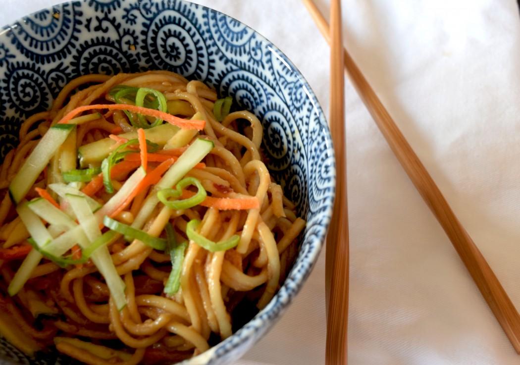 Peanut Sesame Noodles Fete-a-Tete 1