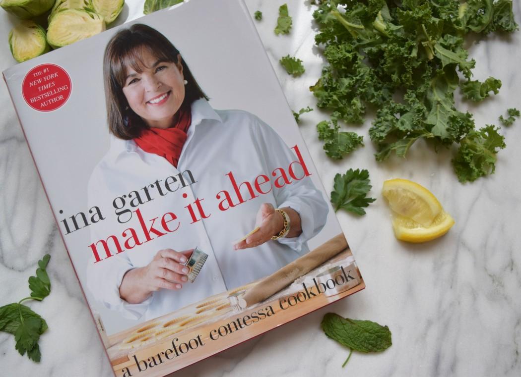 Book report ina garten stuck in your head witten kitchen - Ina garten make it ahead ...