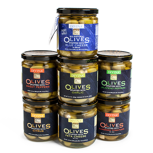 Gourmet Stuffed Olives Fete-a-Tete