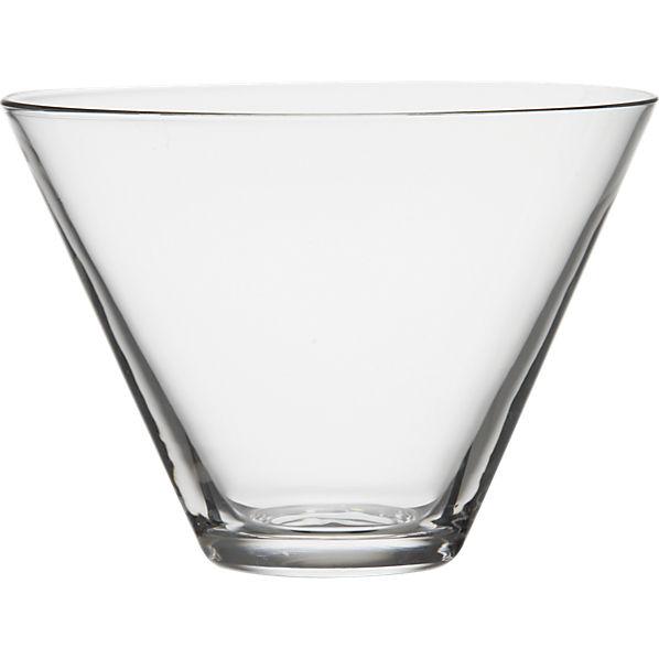 Stemless Martini Glass Fete-a-Tete