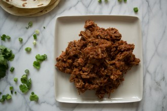 Braised Chipotle Pulled Pork Fete-a-Tete