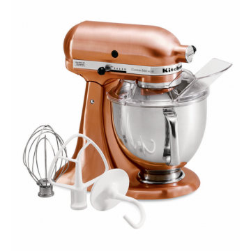 Kitchenaid Custom Metallic Mixer, Satin Copper Fete-a-Tete