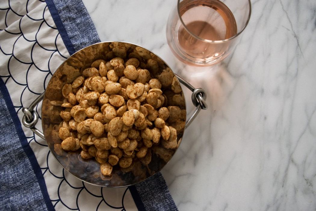 Smoky, Sweet, and Spicy Marcona Almonds Fete-a-Tete