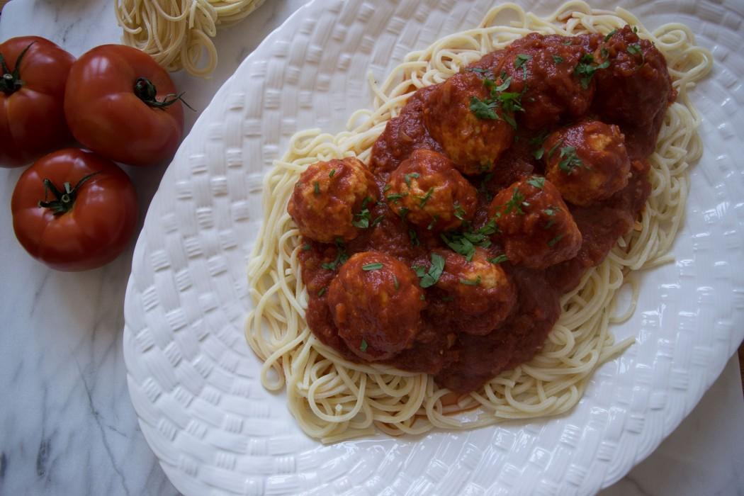 Classic Spaghetti and Meatballs Fete-a-Tete 2