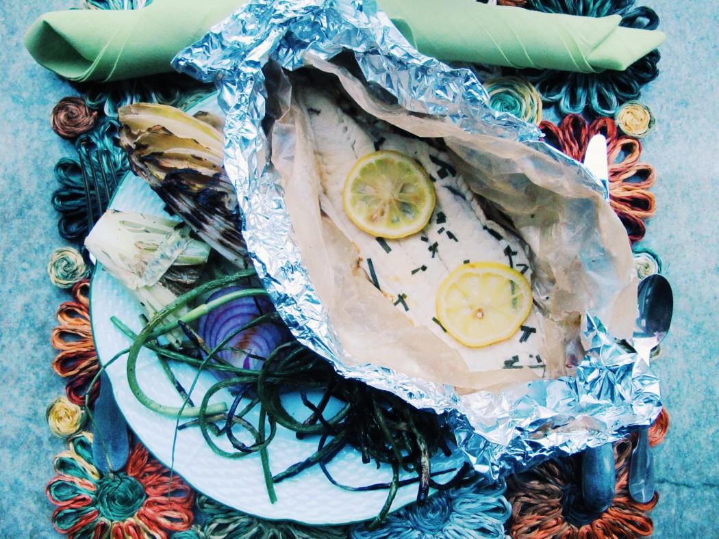 Summer Yummy Lemon Sole Fete-a-Tete