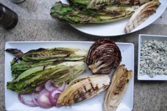 """The """"I'm So Fancy"""" Grilled Romaine, Radicchio, Endive Salad Fete-a-Tete 1"""