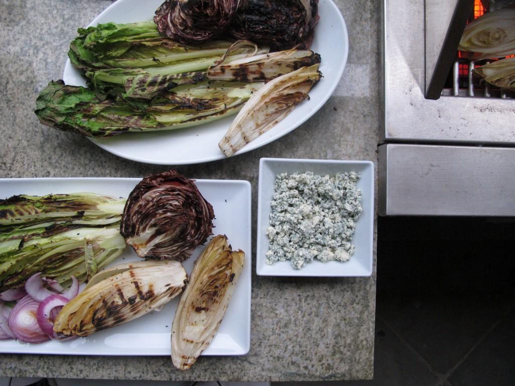 """The """"I'm So Fancy"""" Grilled Romaine, Radicchio, Endive Salad Fete-a-Tete 2"""