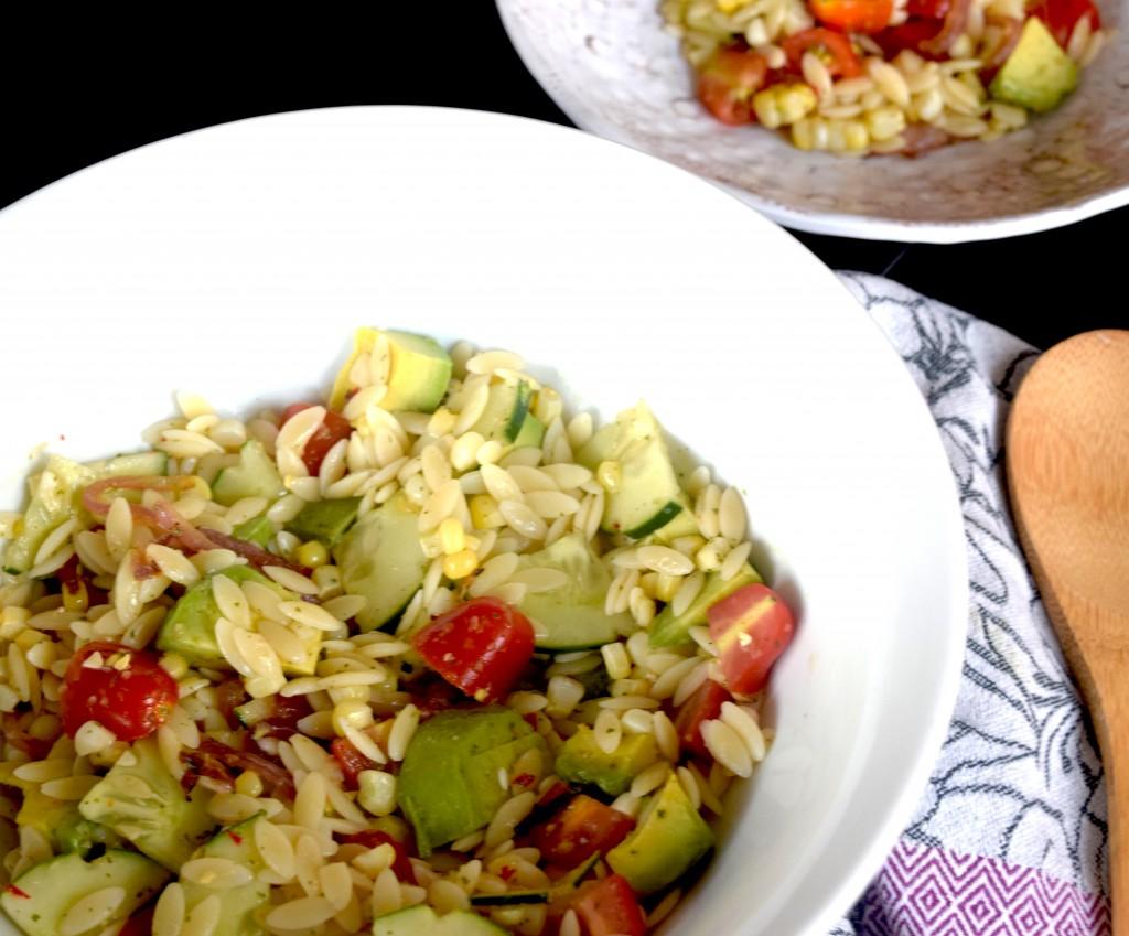 Summer Summer Summertime Pasta Salad Fete-a-Tete
