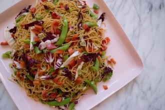 Make Ahead Sesame Veggie Noodles Fete-a-Tete