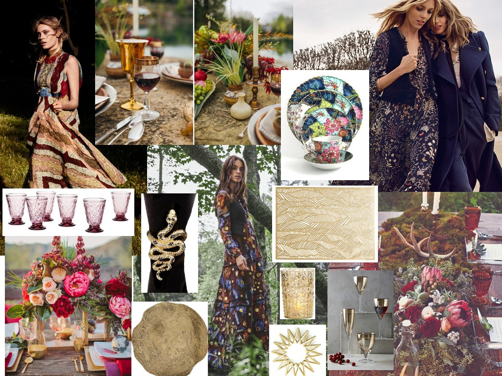 Be Cooool This Fall: Natural, Bohemian Elements Fete-a-Tete 6