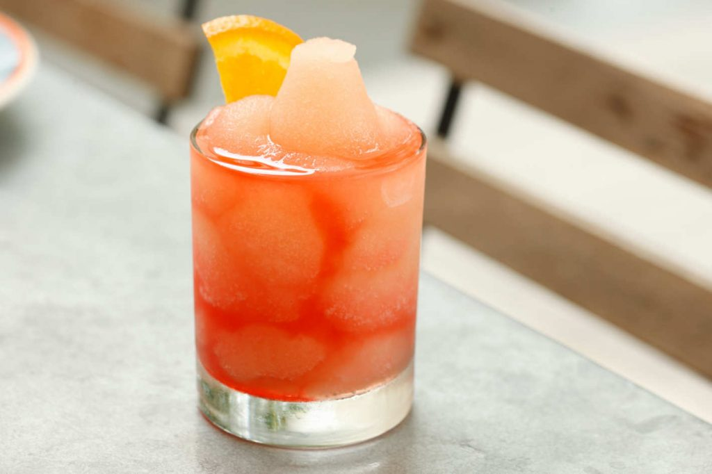 Frozen Negroni from Alta Linea by Melissa Hom