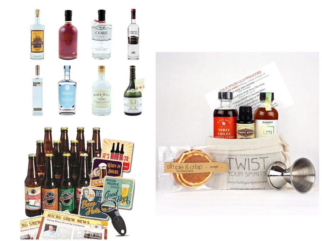 Liquor Services and Subscription Boxes